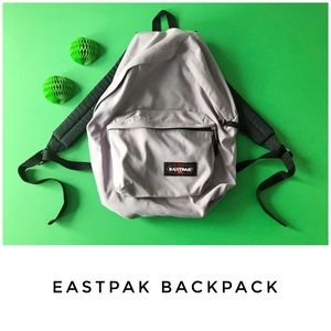 🚨 Eastpak backpack bag purple lilac padded pakr